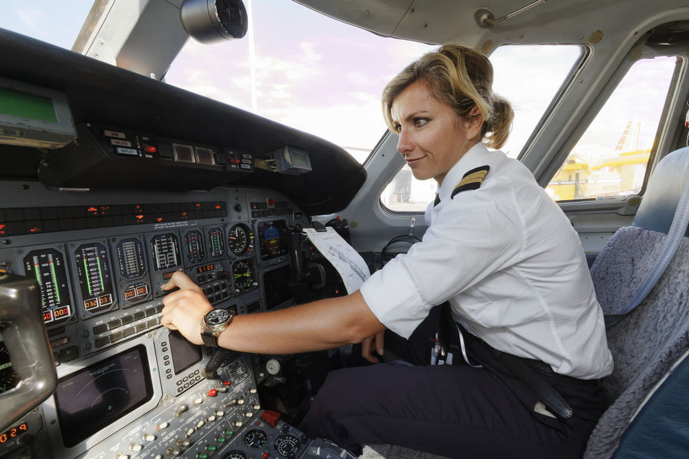Mulheres na aviação