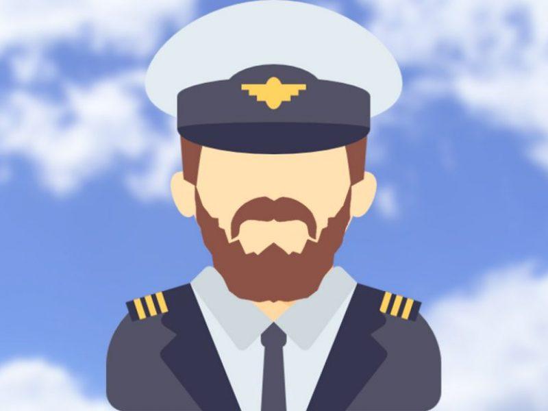 Por que é incomum ver piloto com barba?