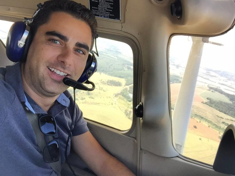 Comandante da Azul conta sua passagem pelo Aeroclube de Juiz de Fora no início de sua trajetória profissional
