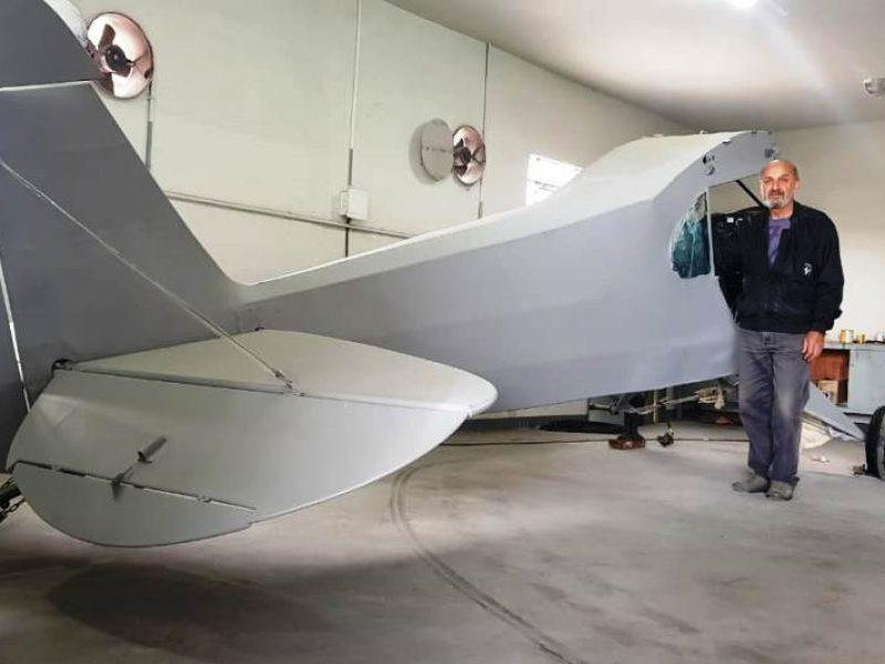 Aeroclube de Juiz de Fora apresenta mais uma aeronave Paulistinha