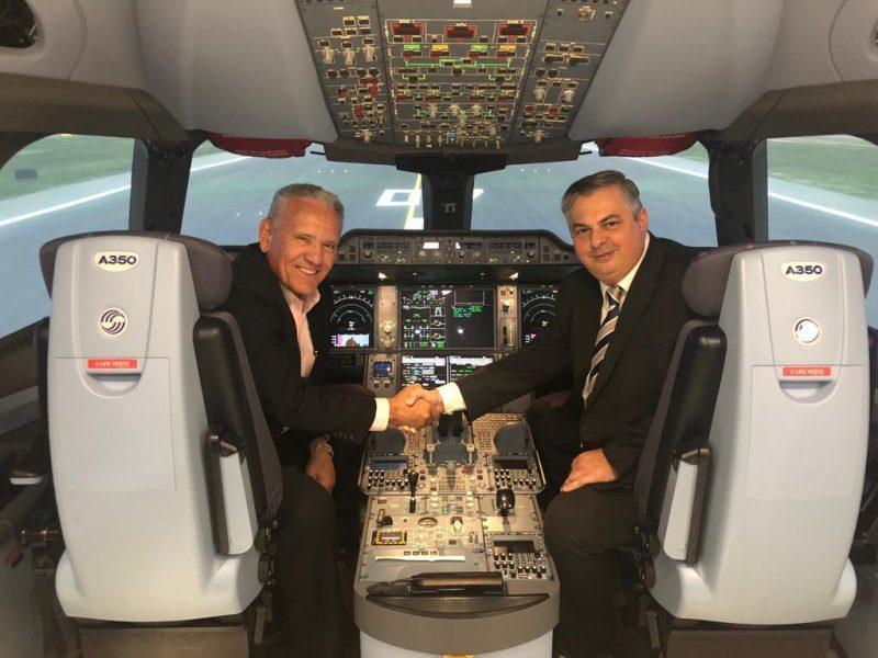 Piloto formado no Aeroclube de Juiz de Fora trabalha na empresa Hong Kong Airlines