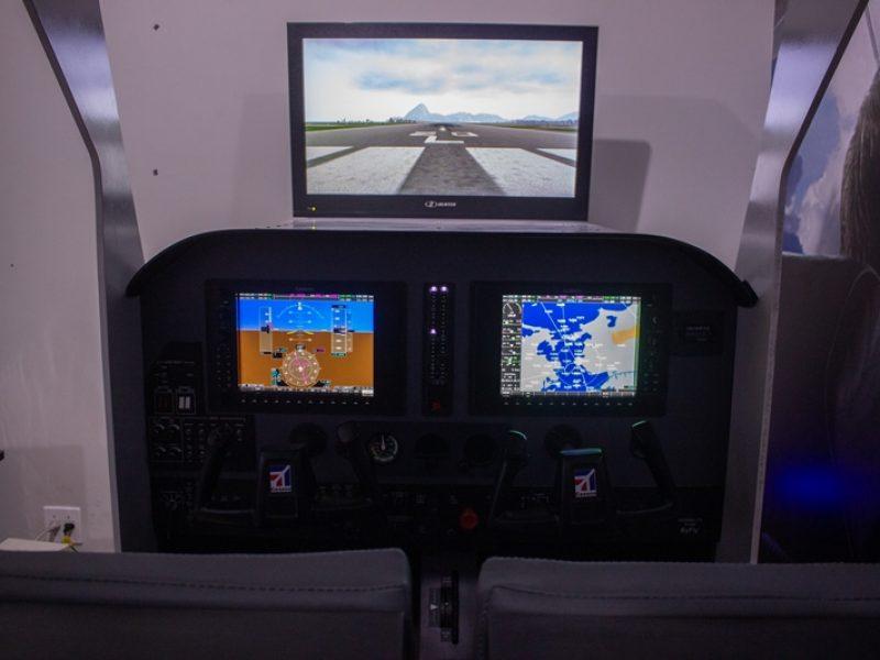 Aeroclube de Juiz de Fora tem seu novo simulador G1000