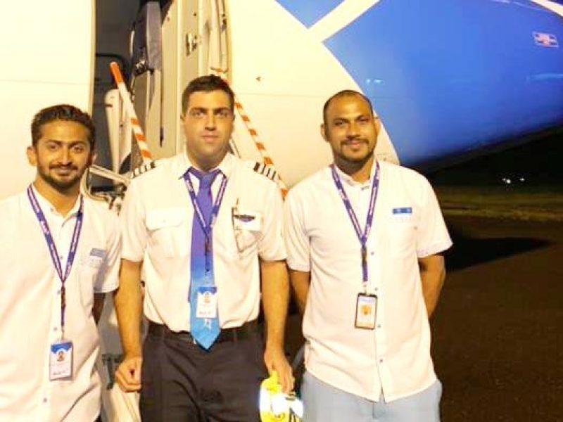 Piloto brasileiro trabalha em companhia aérea nas Ilhas Maldivas