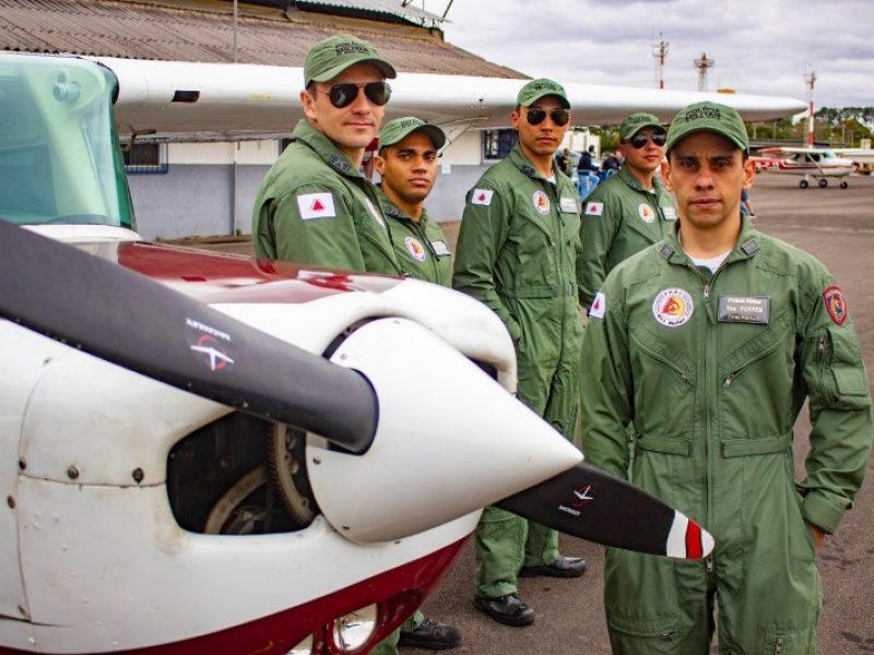 Oficiais da Polícia Militar de Minas Gerais realizam curso de Piloto Comercial no Aeroclube de Juiz de Fora