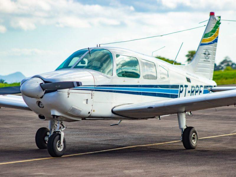 Frota do Aeroclube de Juiz de Fora ganha nova aeronave
