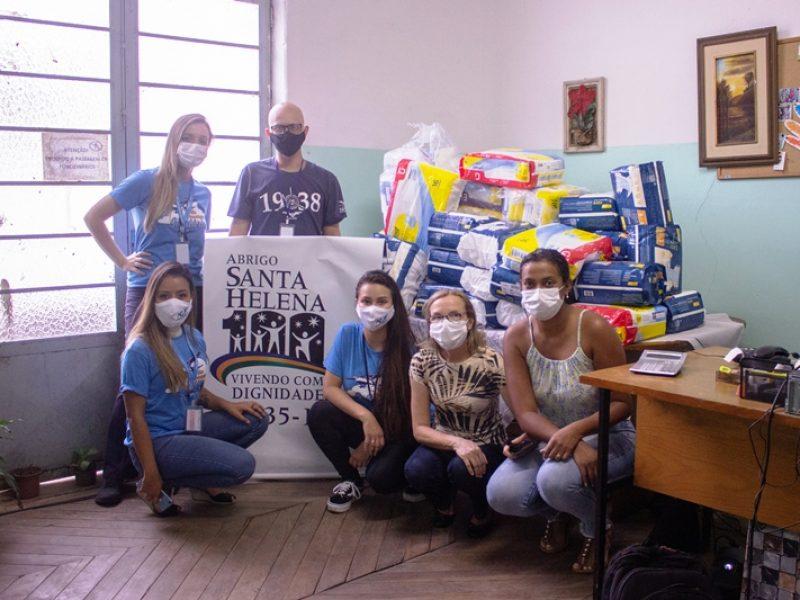 Campanha Voo Panorâmico Solidário – Doação do Aeroclube de Juiz de Fora é entregue ao Abrigo Santa Helena