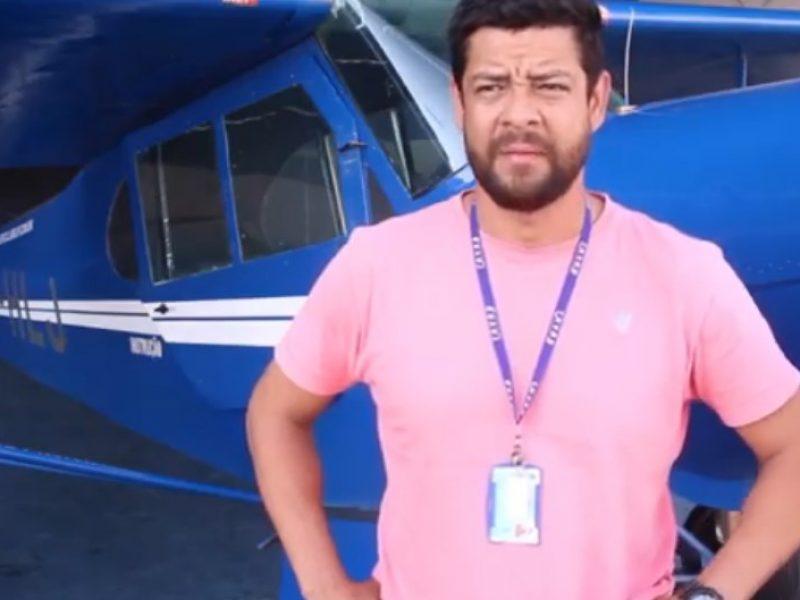 Aluno do Aeroclube de Juiz de Fora escolhe a Aviação Agrícola