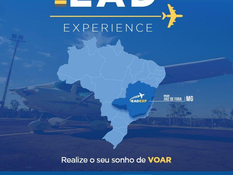 Campanha EAD Experience agita os estudos de aviação em Juiz de Fora