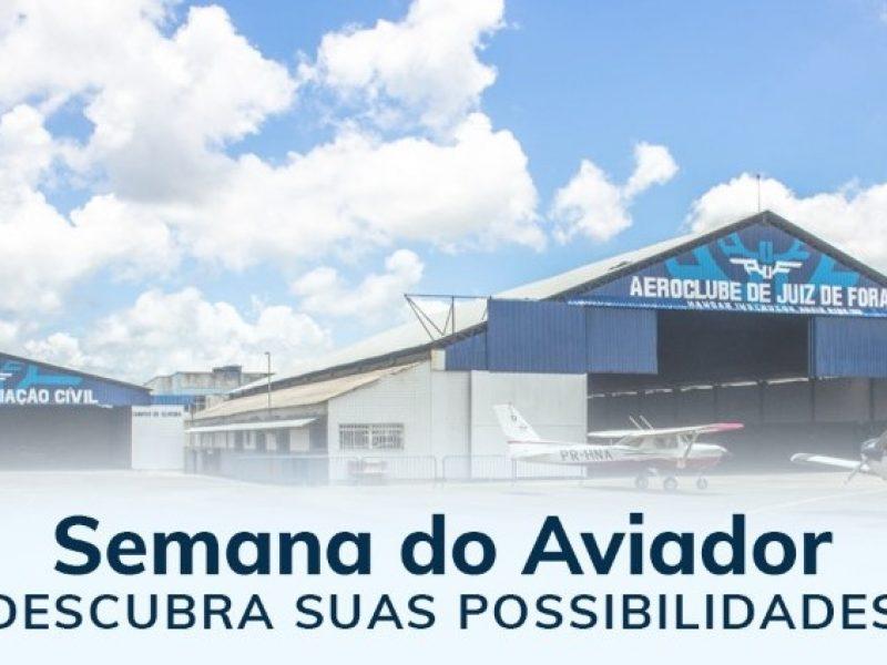 Aeroclube de Juiz de Fora comemora a Semana do Aviador