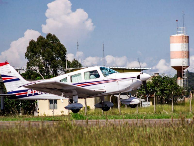 Nova aeronave Cherokee compõe a frota do Aeroclube de Juiz de Fora
