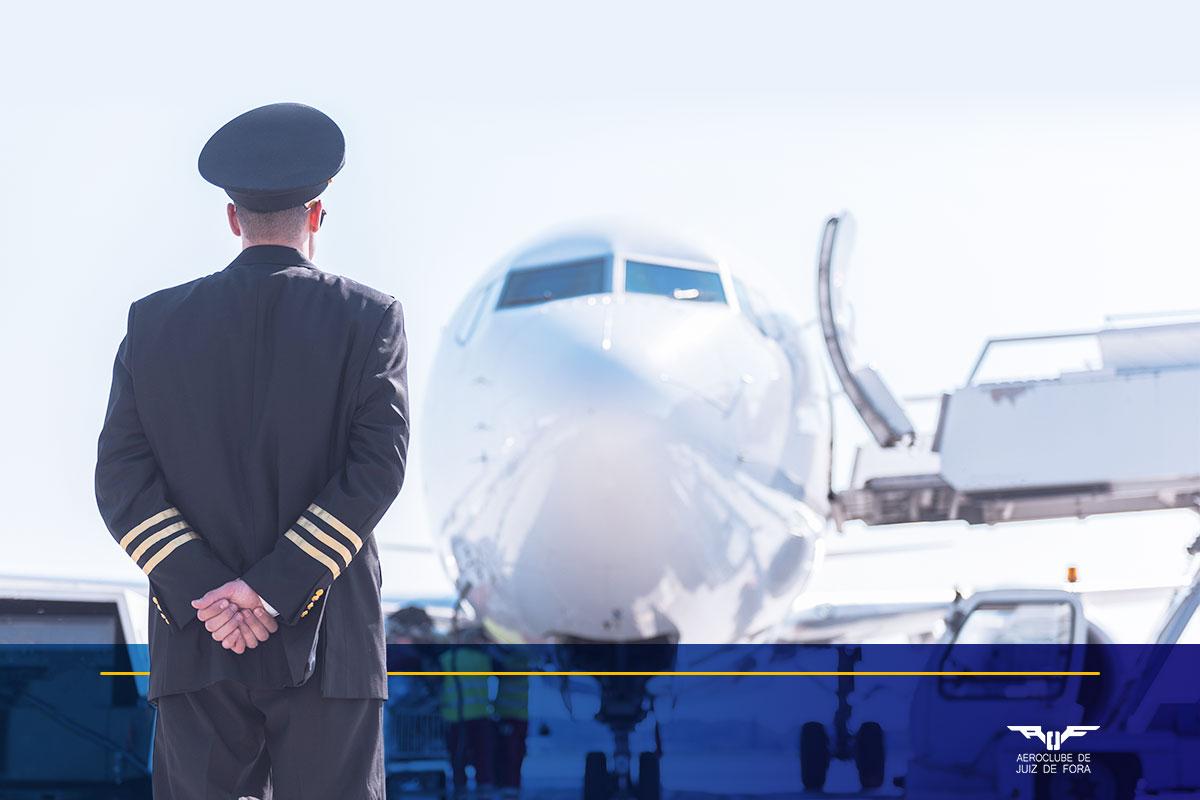 como se tornar piloto de avião